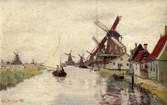 Ветряные мельницы в Голландии