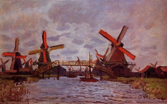 Ветряные мельницы в Зандаме