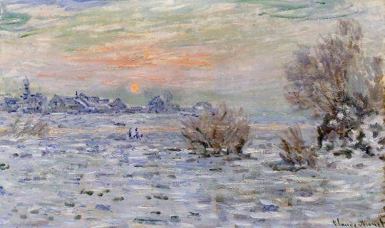 Зима на Сене, Лавакур