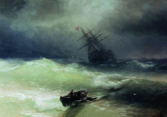 Буря над Евпаторией