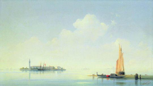 Венецианская лагуна. Вид на остров Сан-Джорджо