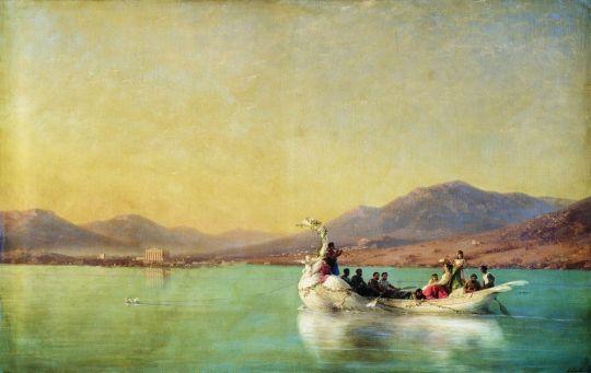 Венчание поэта в Древней Греции