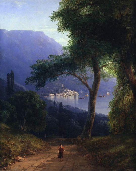 Вид из Ливадии