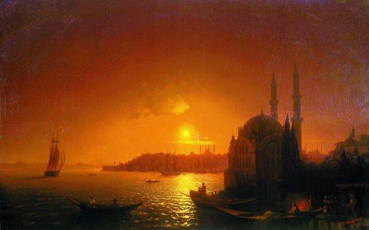 Вид Константинополя