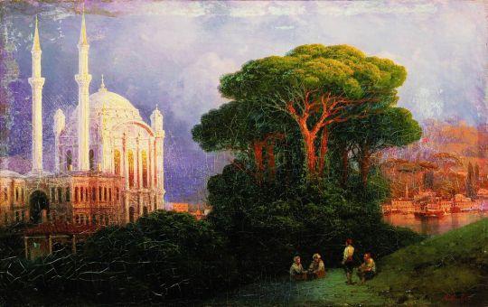 Вид Константинополя с Чамлича