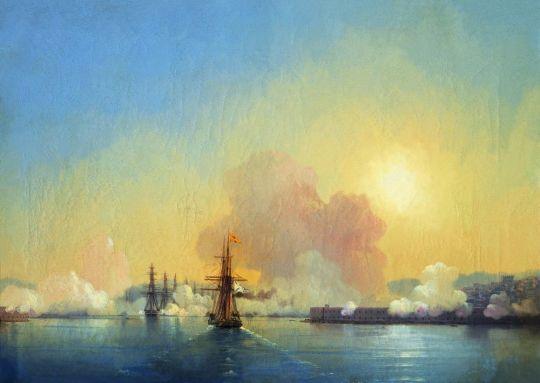 Вход в Севастопольскую бухту