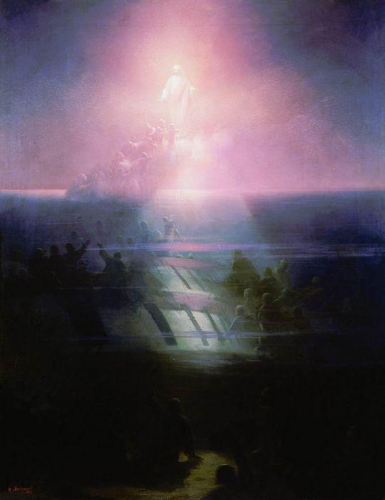 Гибель корабля Лефорт. Аллегорическое изображение