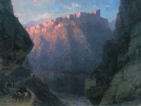 Дарьяльское ущелье