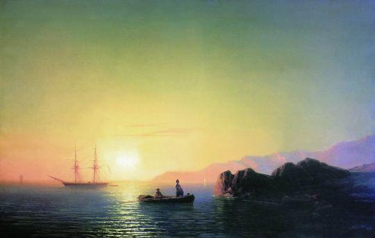 Закат солнца в Малороссии