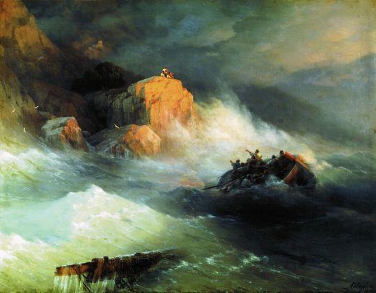 Кораблекрушение в Северном море