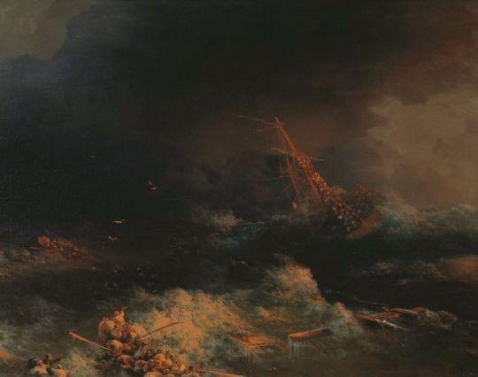 Крушение корабля Ингерманланд в Скагерраке в ночь на 30 августа 1842 года
