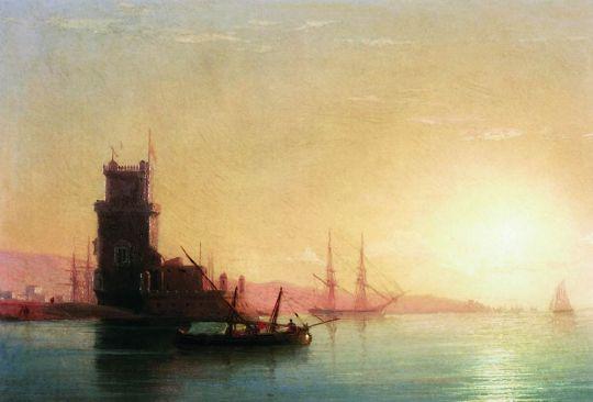 Лиссабон. Восход солнца