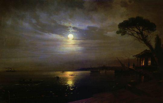Лунная ночь на Чёрном море