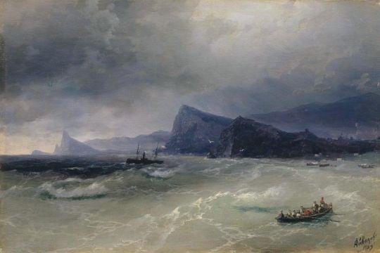 Море. Скалы