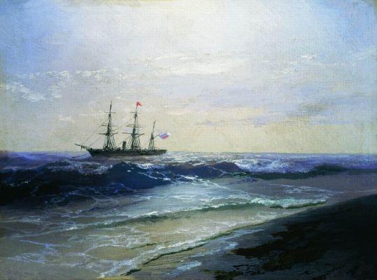 Море. Солнечный день