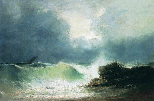 Морской берег. Волна
