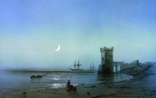 Морской пейзаж (2)