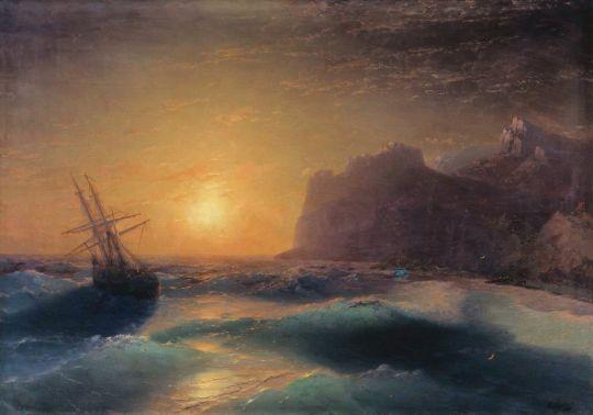 Морской пейзаж. Коктебель