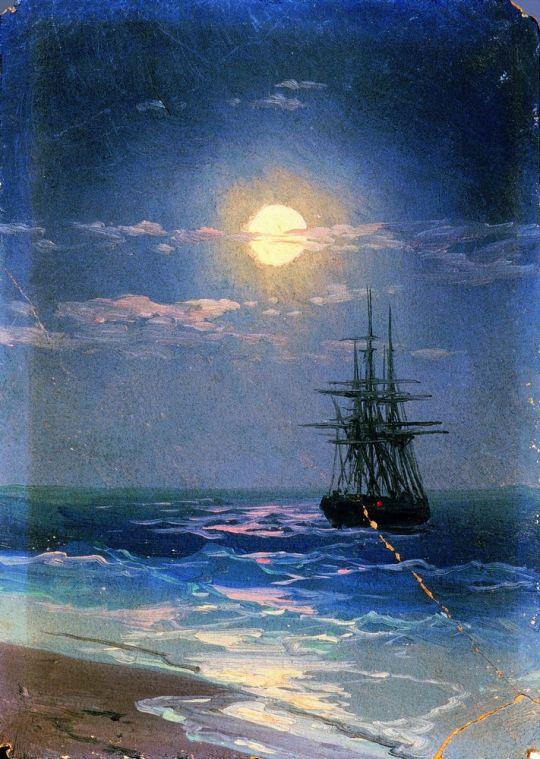 Ночь на море (1)