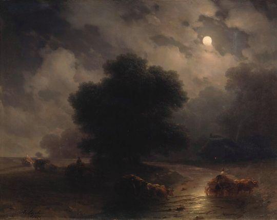 Ночь на море (2)