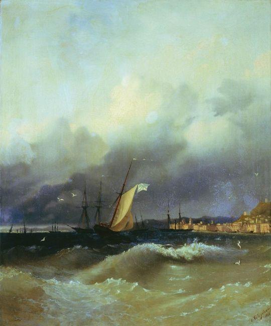Ночь на Черном море