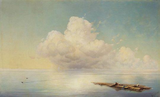 Облако над тихим морем