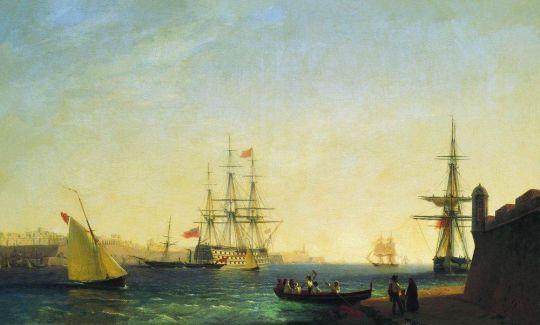 Порт ла Валетта на острове Мальта