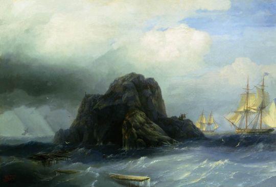 Скалистый остров