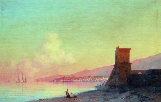 Феодосия. Восход солнца
