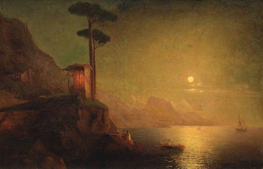 Часовня на берегу моря