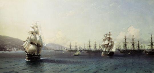 Черноморский флот в Феодосии