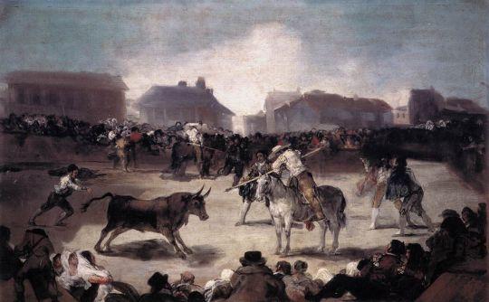 Коррида в деревне