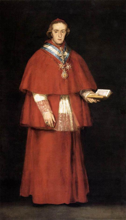 Кардинал Луис Мария де Бурбон Валабриджа