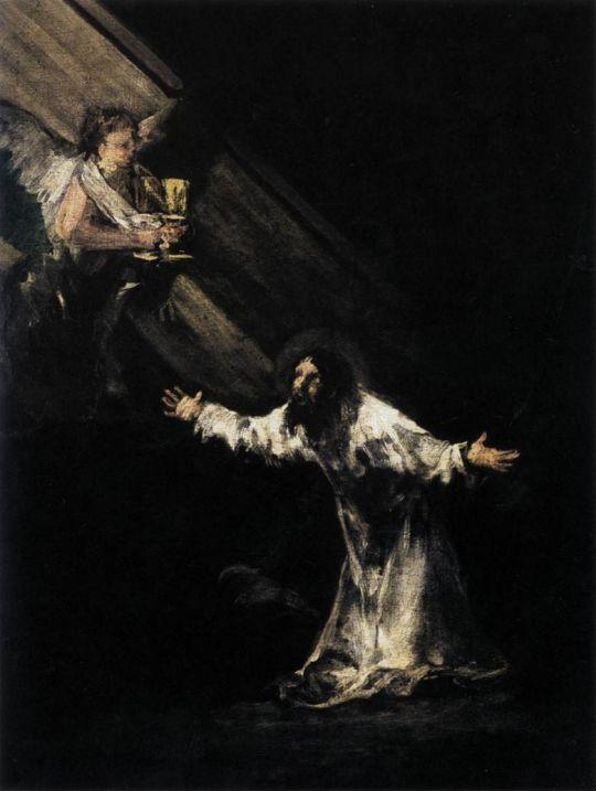 Христос на Масличной горе