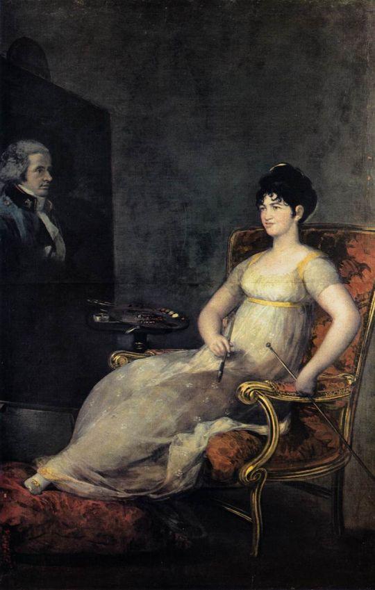 Донна Мари Томас Палафокс, маркиза де Виллафранка