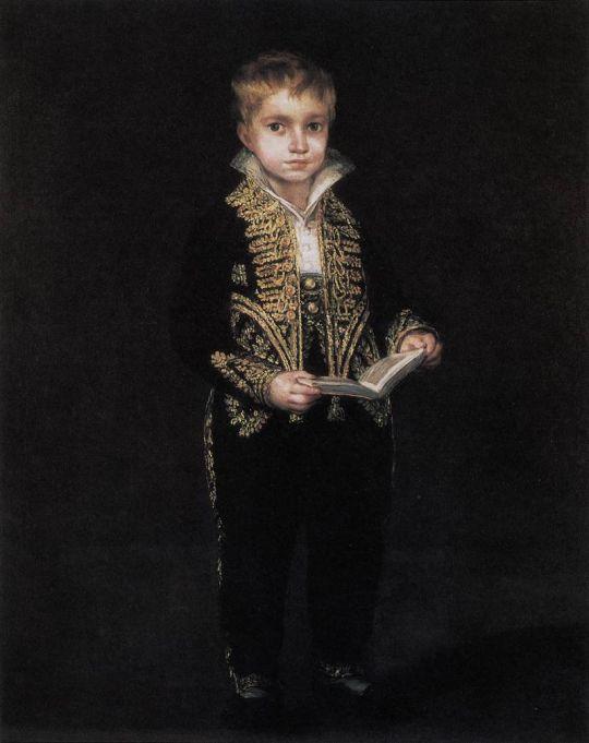 Портрет Виктора Гойя