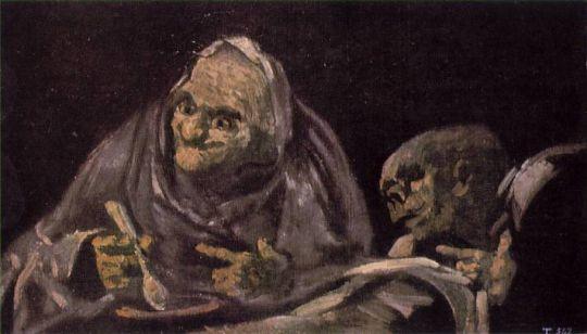 Две женщины за едой