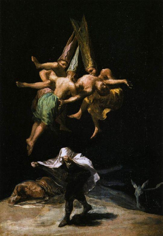 Ведьмы в воздухе
