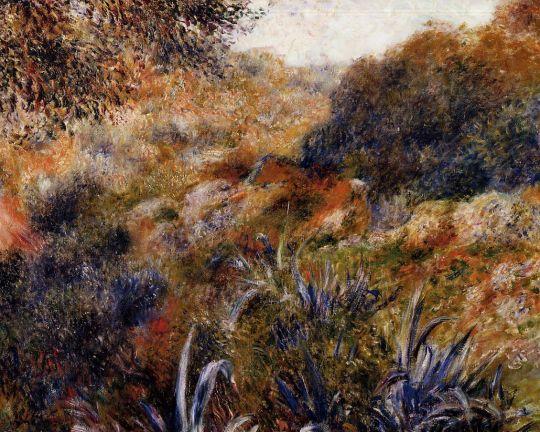 Алжирский пейзаж (также известная как Ущелье диких женщин)