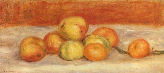 Яблоки и мандарины