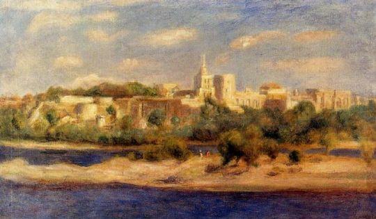 Купальщицы на берегах Тон в Авиньоне