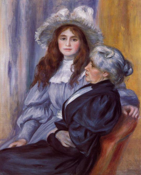 Берта Моризо с дочерью Жюли Мане