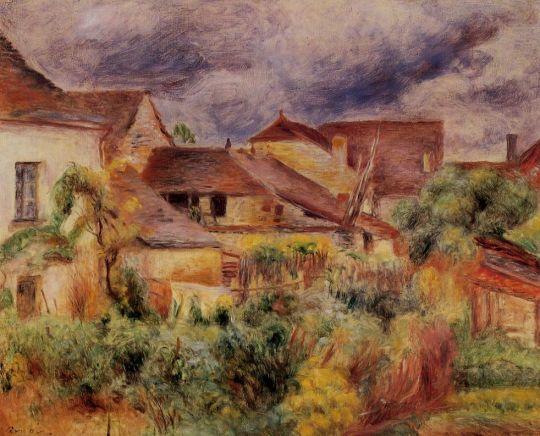 Пейзаж в Эссуа