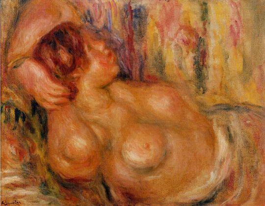 Женская грудь, сон обнажённой