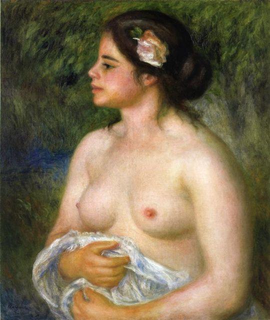 Габриэль с розой