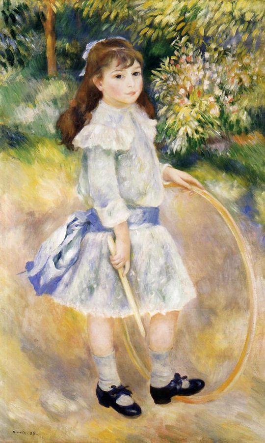 Девочка с обручем