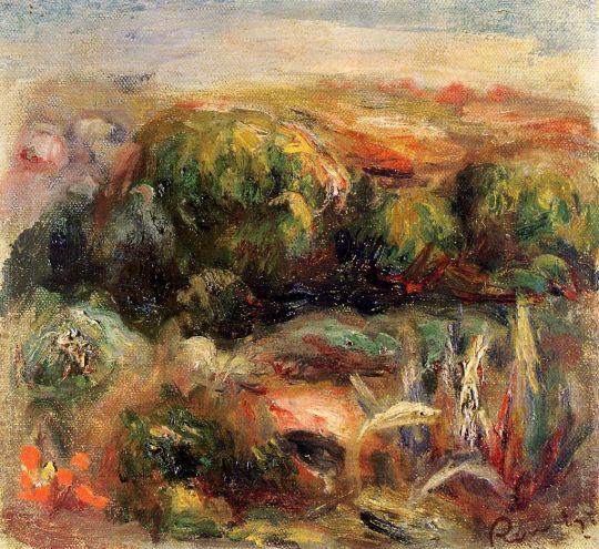 Пейзаж около Кань
