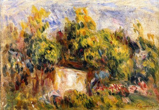 Пейзаж с хижиной