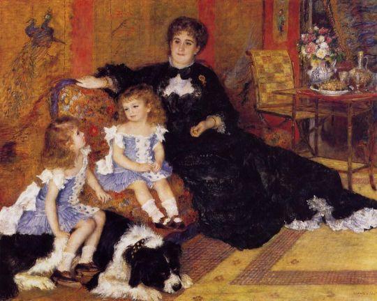 Мадам Жорж Шарпантье и ее дети