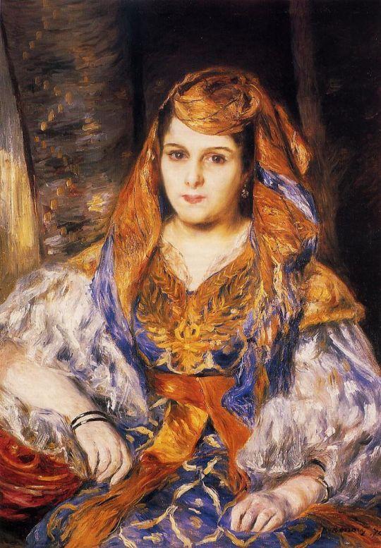 Мадам Стора в алжирском платье